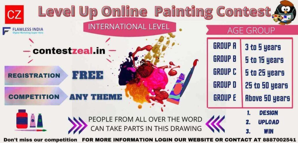 painting competition banner